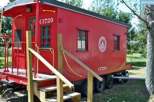 Unique Countryside Caboose near Lafayette, Indiana