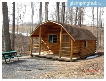 pet friendly camping cabin near lynchburg virginia