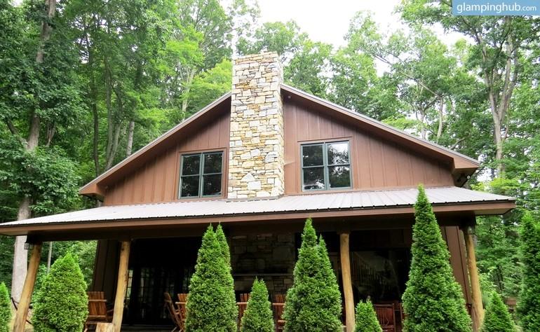 Stunning Cabin Near Asheville North Carolina