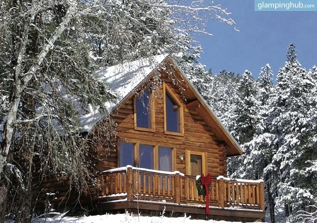 Camping cabin in black hills of south dakota for Cabine black hills south dakota