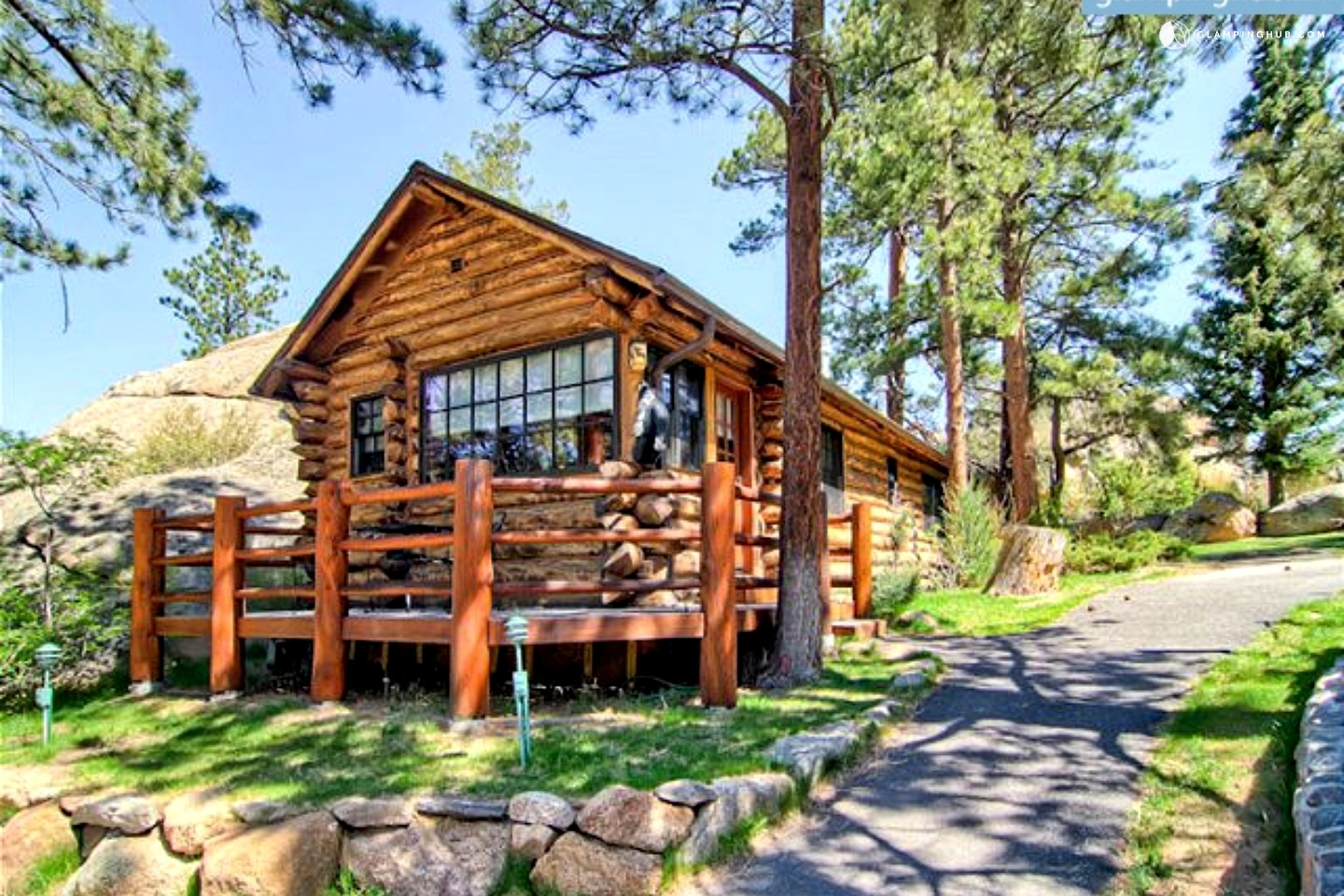 Romantic Log Cabin Near Rocky Mountain National Park Colorado