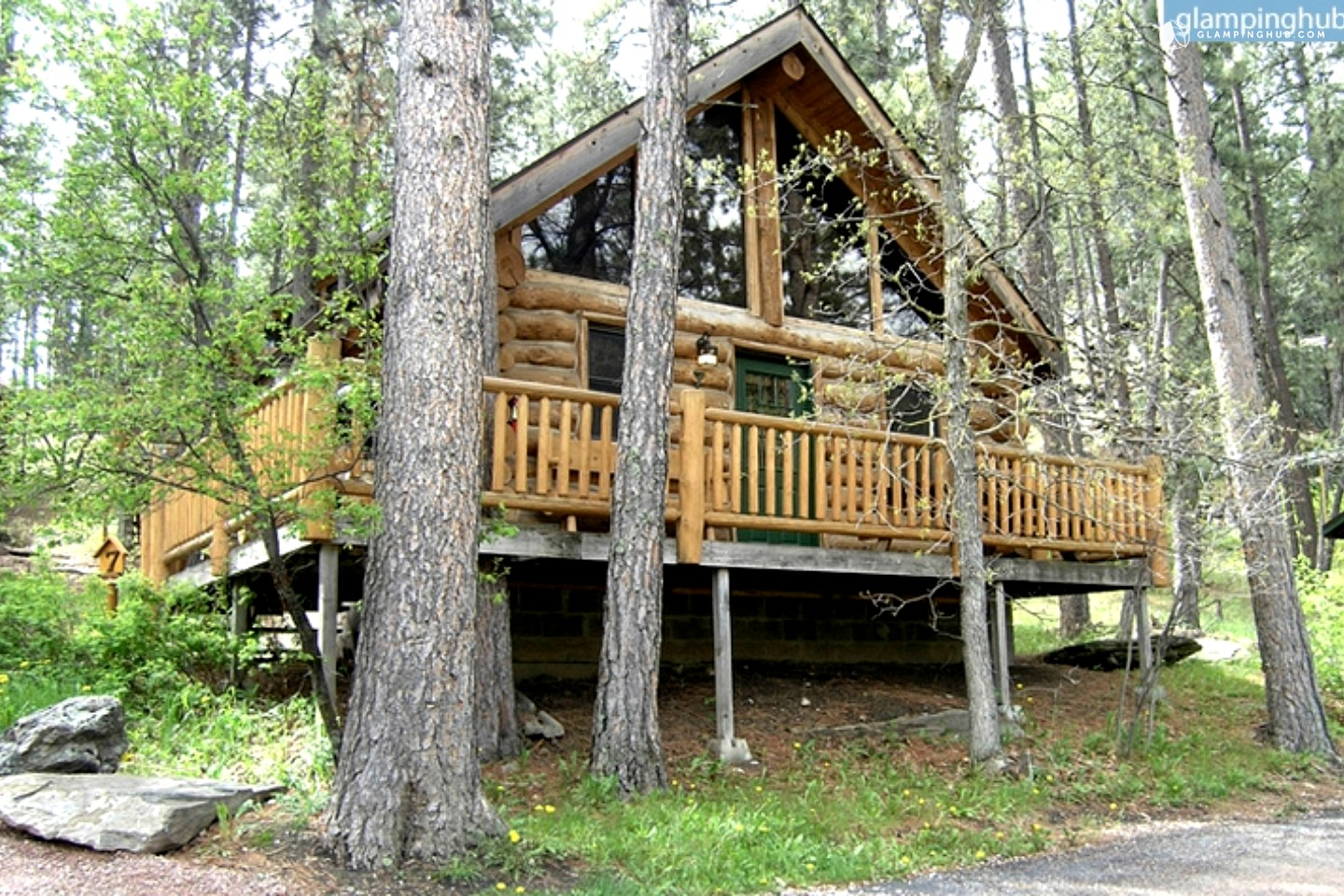 log cabin rental black hills national forest in rapid city