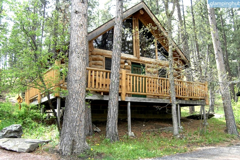 Log cabin rental black hills national forest in rapid city for Cabine black hills south dakota