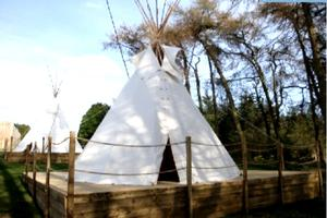 Modern & Spacious Luxury Tipis in UK Countryside