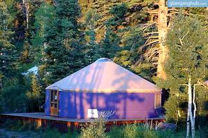 Mountainside Yurts in Brian Head, Utah