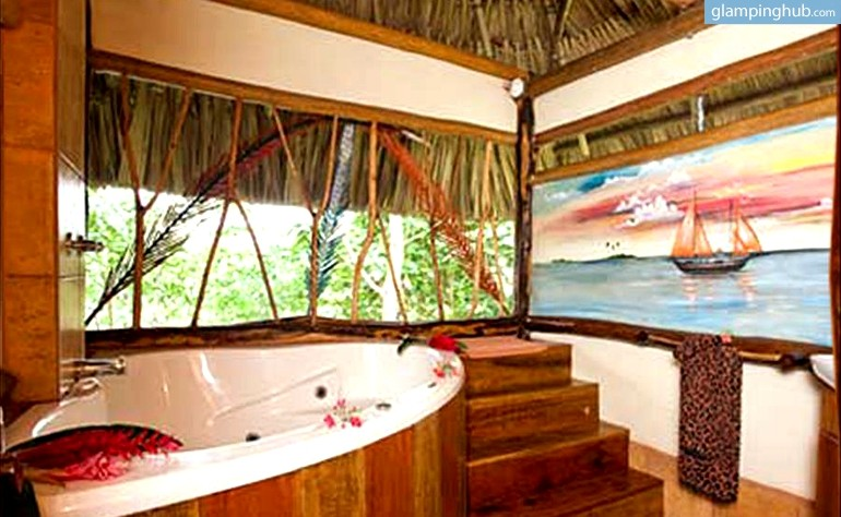 Glamping Belize Luxury Cabanas Belize