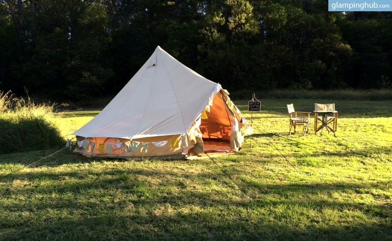 Upsacale Tent Camping Nsw Luxury Camping Nsw