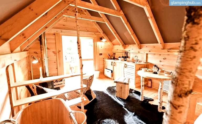 Wood Cabin Glamping Belgium Luxury Nature Cabins Belgium