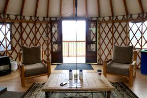 Large Yurt on Fully-Functioning Authentic Ranch, Utah