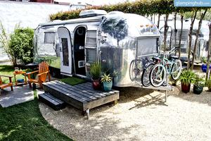 Luxury Airstream Trailers Near Downtown Santa Barbara, California