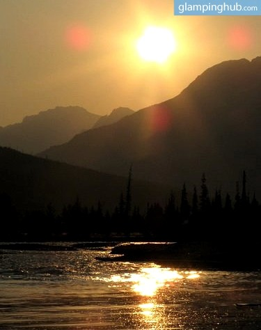 Fly Fishing Glamping Camp in Alberta, British Columbia - Fortress Lake Retreat