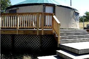 Furnished Yurt with All the Amenities - High Prairie Region, Washington