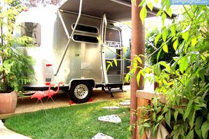 Unique Airstream Trailer Rental near Downtown Petaluma, California