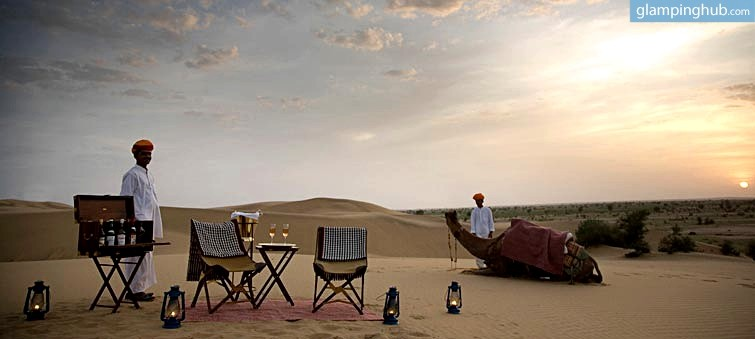 Simple Feel Like Royalty At These Two Luxury Desert Camps  MakeMyTrip Blog