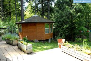 Glamping Eco-Retreat in Bainbridge Island, Near Seattle, Washington