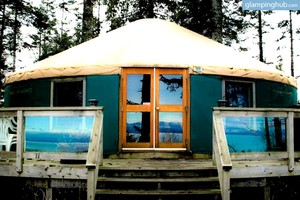 Secluded Getaway - Sea Yurt in Vancouver Island, Canada