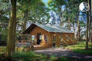 Spacious Luxury Tent Hire for Families near National Park in North Yorkshire