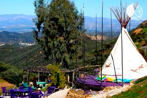 Authentic Native American Tipi in Southern California