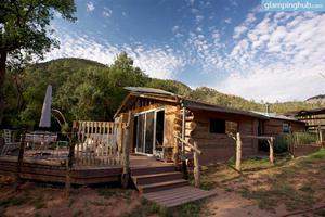 Charming and Secluded Cabin on the Gallina River in New Mexico