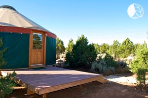 Beautiful Off-the-Grid Yurt with Heating in Monticello, Southeast Utah