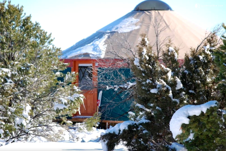 Eco Friendly Yurts In Monticello Utah Glamping Utah