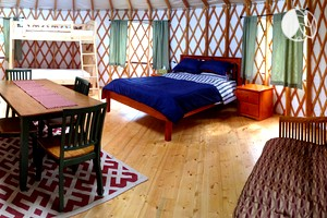 Beautiful Yurt Rentals in Upstate New York