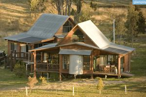 Beautifully Designed Eco-Cabins with Views of Blue Mountains in NSW, Australia