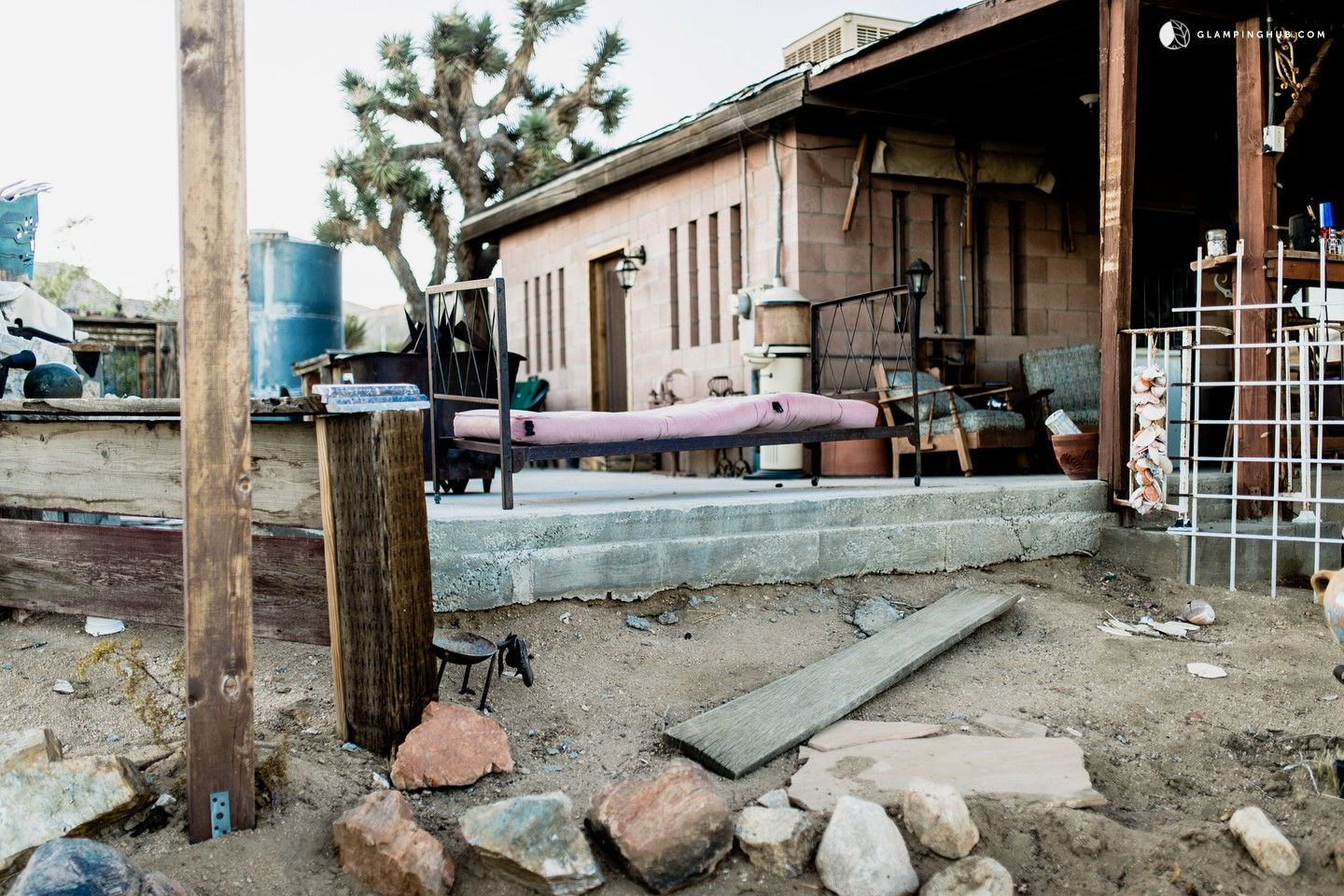Yucca Valley (CA) United States  City new picture : Photo of Cabin Rental in the Heart of the Mojave Desert, California