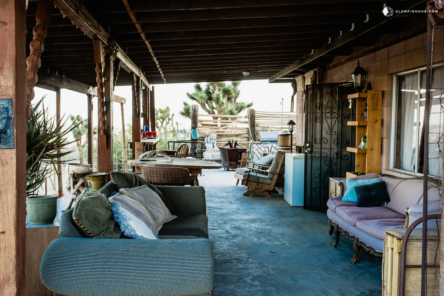 Yucca Valley (CA) United States  city pictures gallery : Photo of Cabin Rental in the Heart of the Mojave Desert, California