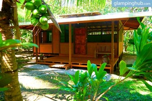 Secluded, Tropical Rainforest Cabins near the Beach in Costa Rica