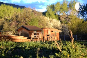 Cabins by a Classic Taos Ski Lodge, New Mexico