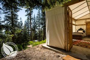Luxury Tented Camp in Sequoia National Monument, California