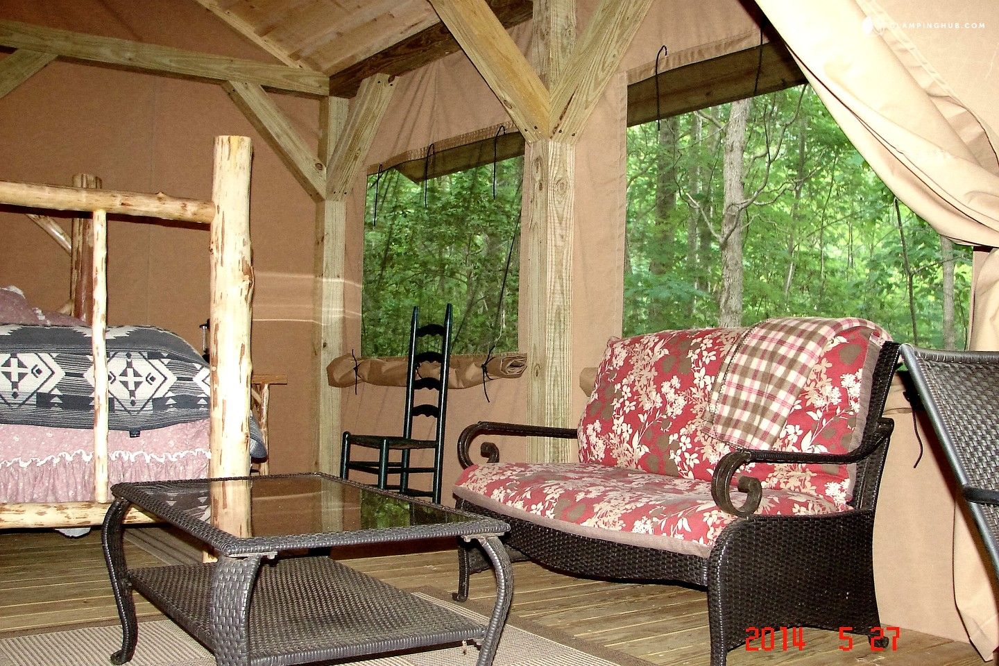 Luxury Tent Camping in North Carolina | Glamping in North ...