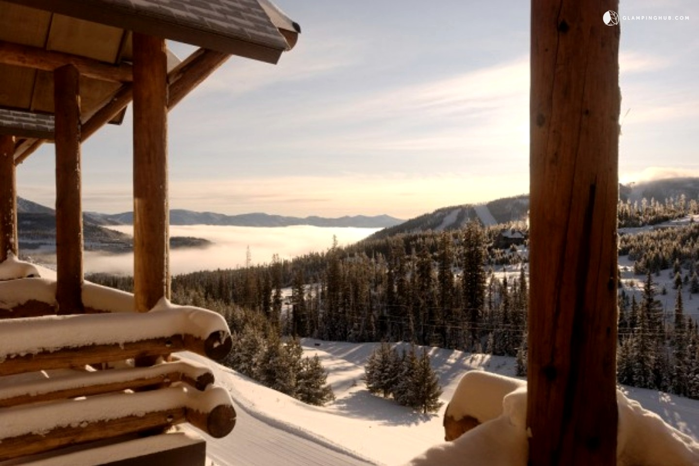 Ski in ski out cabin rental in big sky for Big sky cabin rentals