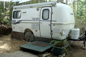 Quirky Glamping Trailer near Hiking Trails in Port Townsend, Washington