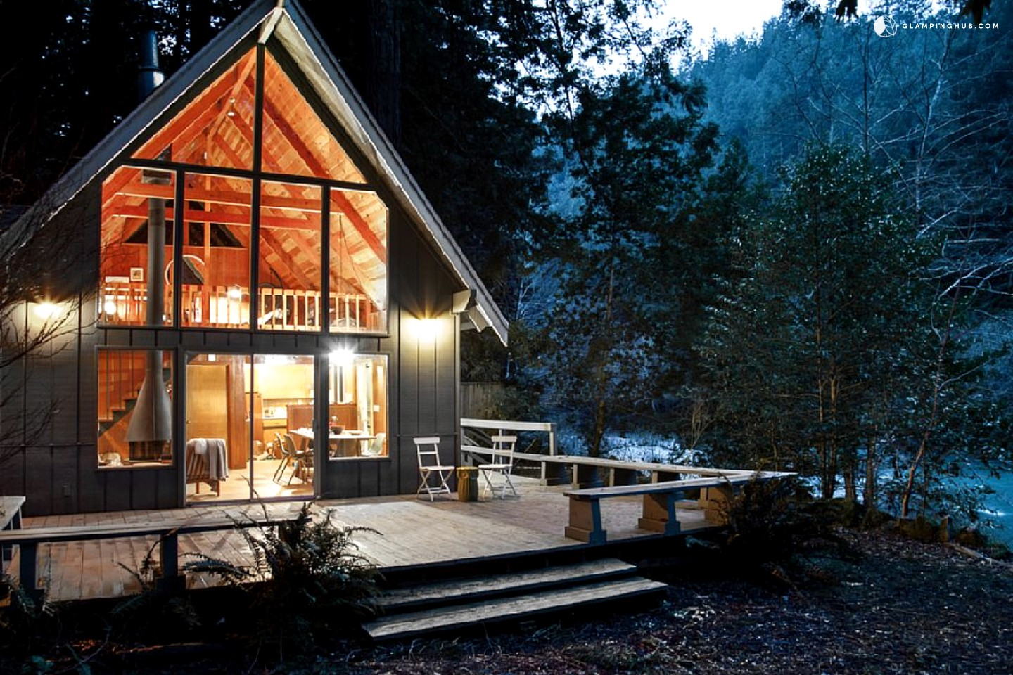 northern california redwoods cabin rental