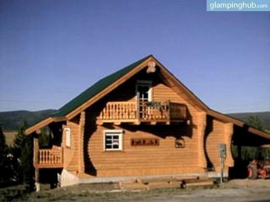 Luxury Wood Cabin Yellowstone