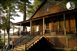 Lakefront Cabin Rental in the Adirondacks of Upstate New York