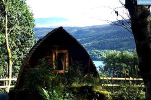 Comfy Wigwams Nestled in Quiet Secluded Woodland Area, Scotland