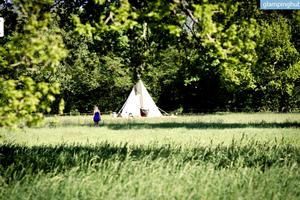 Cozy And Relaxing Tipi In North Yorkshire, England
