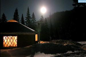 Cozy Yurt Nestled in Rocky Mountains Backcountry, Colorado