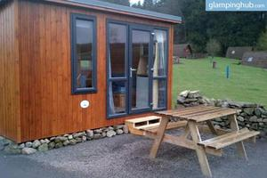 Delightful Pod Rentals near Threave Castle in Dumfries, Scotland