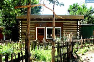 Eco-Cabin Rental in Taos, New Mexico