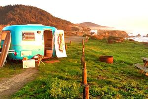 Eco-Friendly Ultra Lightweight Travel Camper, Southern California