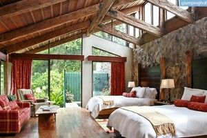 Elegant Lodge in Costa Rica Overlooking a Volcano and Cloud Forest