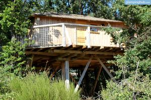 Endearing Luxury Tree Houses with Environmental Amusement Park near Poitiers, France