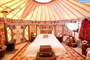 Exquisite Yurts for Weddings, Gatherings, and Getaways, United Kingdom