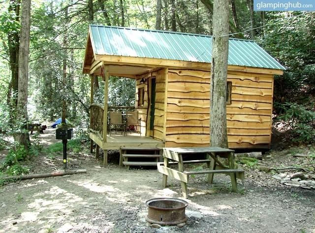 Luxury cabin rentals in north carolina glamping in north for Cabin in north carolina mountains