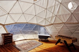 Fantastic Glamping Dome Nestled in Appalachian Mountains, Georgia