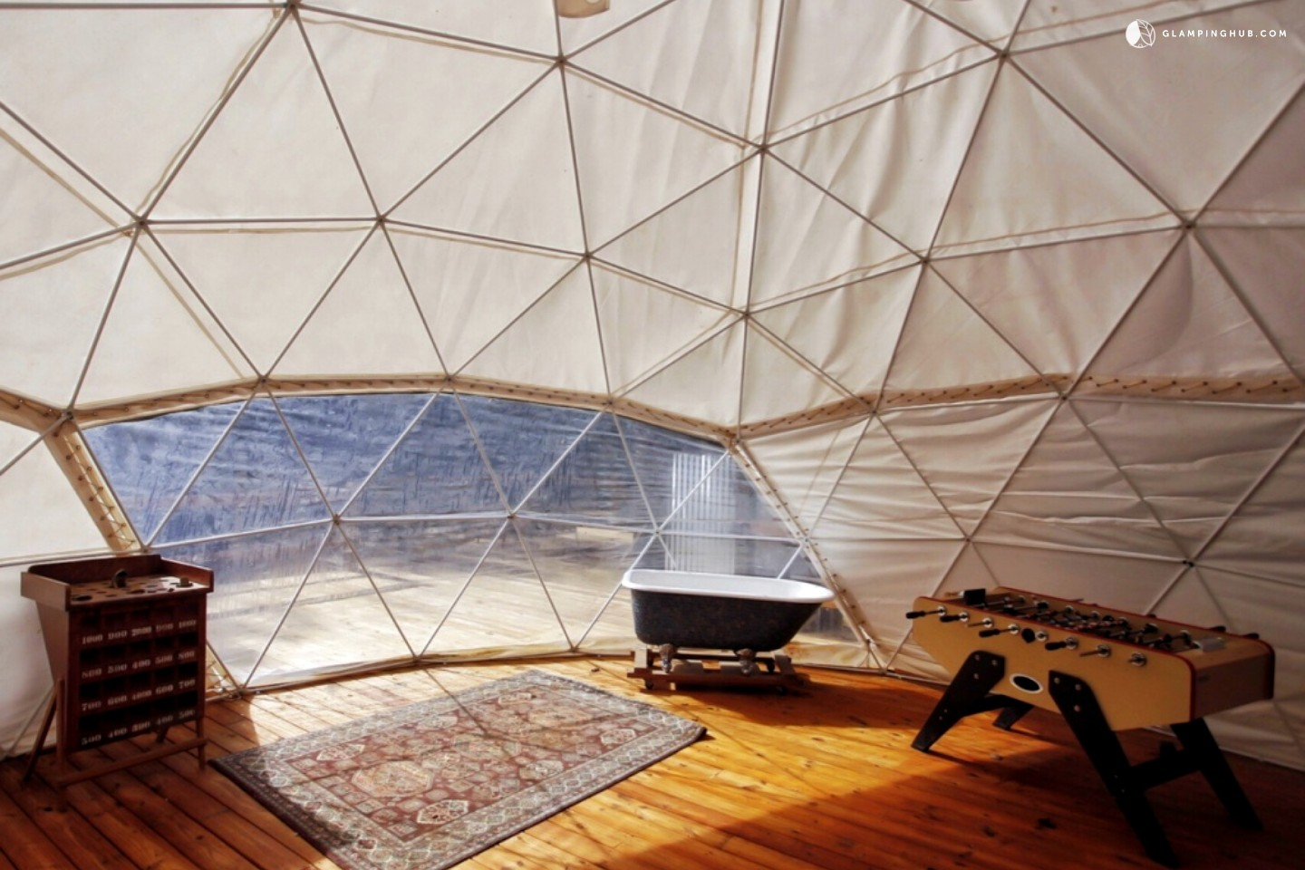 East Ellijay (GA) United States  City new picture : ... of Fantastic Glamping Dome Nestled in Appalachian Mountains, Georgia